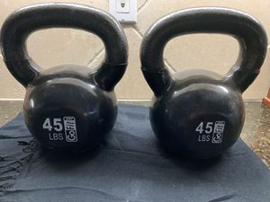 45lb kettlebells for Sale in Simi Valley, CA
