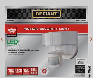 Motion security led light for Sale in Everett, WA