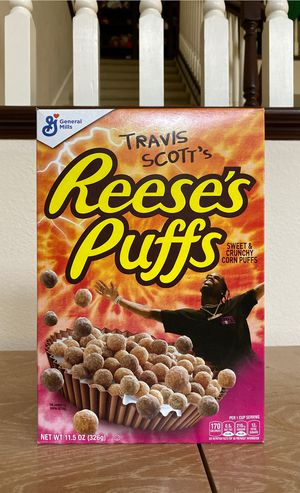 Travis Scott limited edition cereal for Sale in San Juan Capistrano, CA