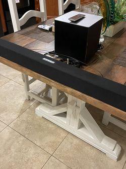 "Vizio 2.1 Sound Bar SB3821-C6 with Wireless Subwoofer Bluetooth 100dB SPL, 38"" for Sale in Fort Lauderdale,  FL"