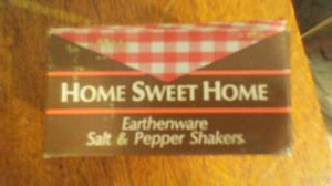Vintage Earthware Salt and Pepper Shakers. for Sale in Cairo, GA
