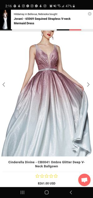 Ombre Prom Dress for Sale in Laredo, TX