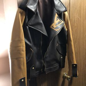 Louis Vuitton custom 1 of 1 moto jacket men's for Sale in New York, NY