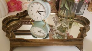 Mirror and brass heavy tray for Sale in Campbell, CA