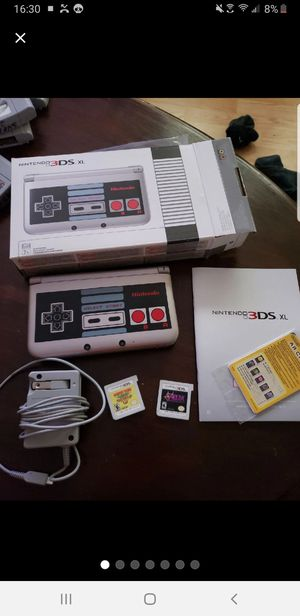 Nintendo 3DS XL NES Special Edition for Sale in North Springfield, VA