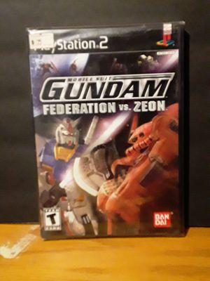 PS2- Gundam: Federation vs Zeon for Sale in Phoenix, AZ