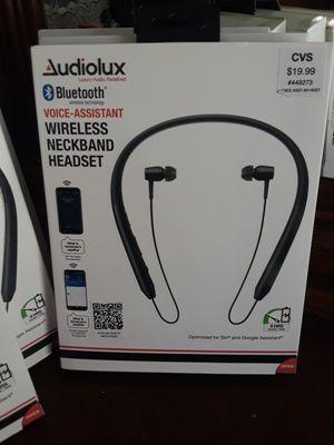 Wireless neckband headphones for Sale in Houston, TX