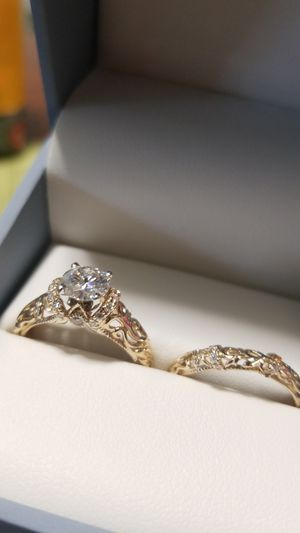 Engagement Ring and Wedding Band (new) for Sale in Bellingham, WA