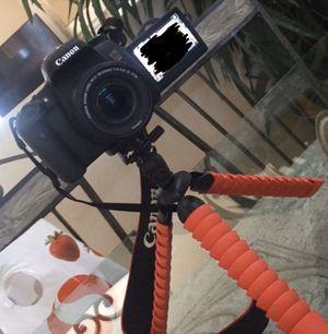 Canon EOS Rebel T6s DSLR Camera + Lenses & Acessory Kit for Sale in Pleasanton, CA
