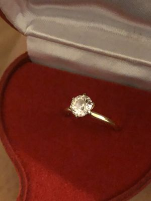 14 kt Yellow Gold Diamond Ring for Sale in Brookline, MA