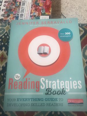 Reading Strategies Boom by Jennifer Serravallo for Sale in West Palm Beach, FL