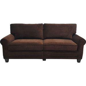 SERTA Trinidad 73 in. Espresso/Brown Polyester 2-Seater Sofa with Removable Cushions BRAND NEW STILL IN BOX! for Sale in Los Angeles, CA