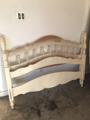Full size bed frame- head and foot board for Sale in Wichita Falls, TX