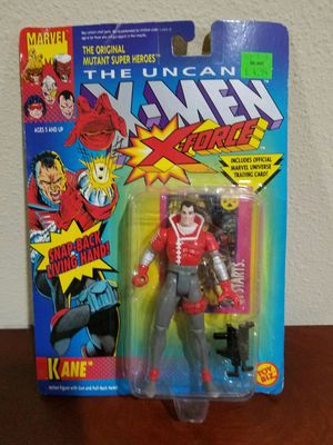 Kane The Uncanny X-Force Marvel Comics ToyBiz RARE VINTAGE COLLECTABLE Action Figure for Sale in Thonotosassa, FL