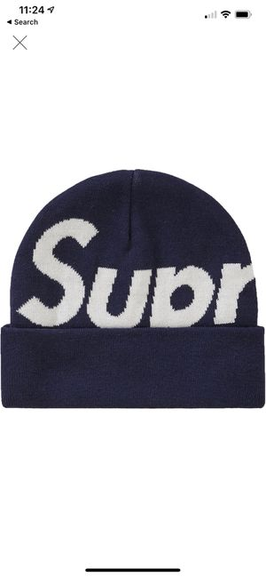 Supreme beanie navy for Sale in Vienna, VA