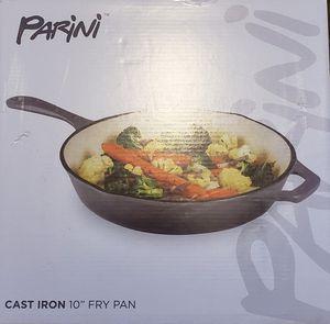 "Parini Cast Iron 10"" Fry Pan New for Sale in Phoenix, AZ"