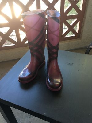 "Burberry Rain Boots ""pink"" for Sale in Chandler, AZ"