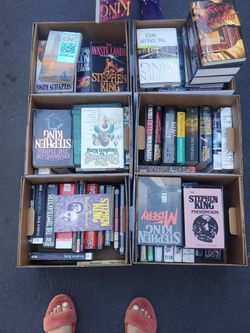 Stephen King Book Collection for Sale in Redwood City,  CA
