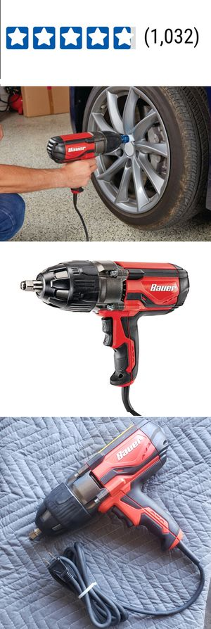 8.5 Amp Corded 1/2 In. Heavy Duty Extreme Torque Impact Wrench 1050 ft. lbs. for Sale in La Puente, CA