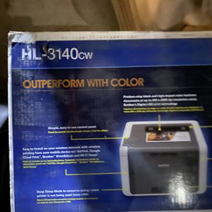 Brother Laser printer New In Box HL-3140cw for Sale in San Diego, CA