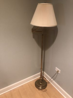 Brass Floor Lamp for Sale in Arlington Heights, IL