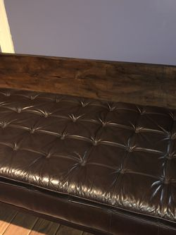 Leather Chaise for Sale in Letohatchee,  AL