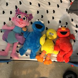 Sesame Street Stuffed Animals for Sale in Mount Hamilton,  CA