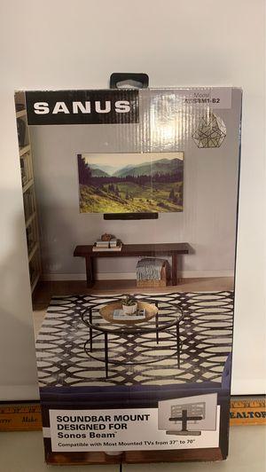 Sanus wssbm1-82 sound bar mount for Sonos Beam for Sale in San Diego, CA