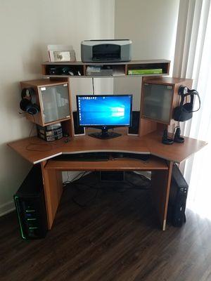 Corner Gaming Computer Desk for Sale in Buffalo Grove, IL