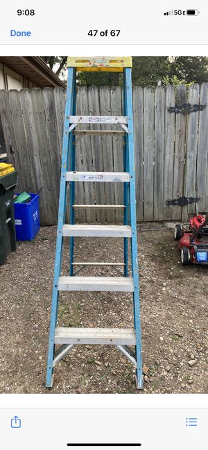 Werner 6ft Fiberglass Ladder for Sale in Kansas City, MO