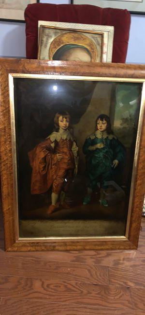 Framed James MacArdell print for Sale in Rockville, MD