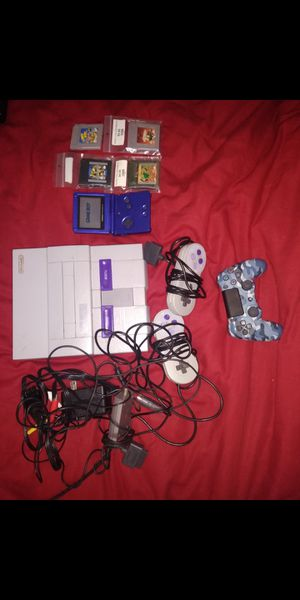 Super Nintendo gameboy for Sale in Cartersville, GA