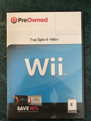 Top Spin 4 - Wii for Sale in Clayton, NC