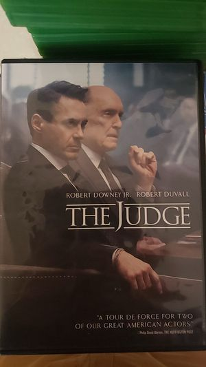 The Judge DVD for Sale in Farmville, VA