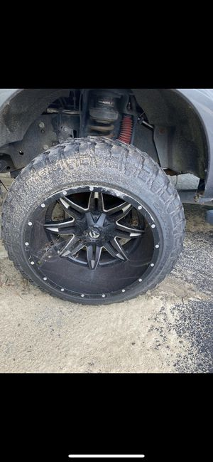 22x12.5 rims and tires for Sale in Richmond, VA