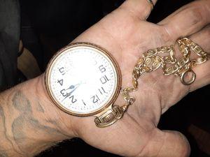 Elgin 23 Jewel 10 karat gold open face watch $250 or best offer for Sale in Pasadena, TX