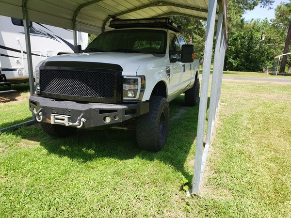 2008 Ford F350 lifted tuned and deleted