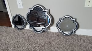 3 piece mirror wall decor for Sale in Lexington, KY