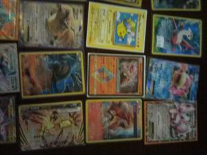 Pokemon Cards-GX,EX,MEGA,BREAKS and SECRET RARES. 100 unused Online TCG cards for Sale in Evansville, IN
