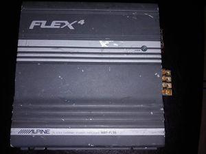 Alpine Flex4 4/3/2 channel amp - great price, works 100%! for Sale in La Vergne, TN