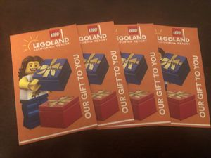 Legoland/Sealife One day Hopper tickets. Expires 11/22 for Sale in Brea, CA