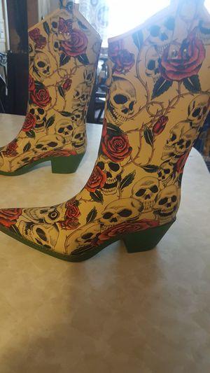 Rubber rain boots for Sale in Oklahoma City, OK