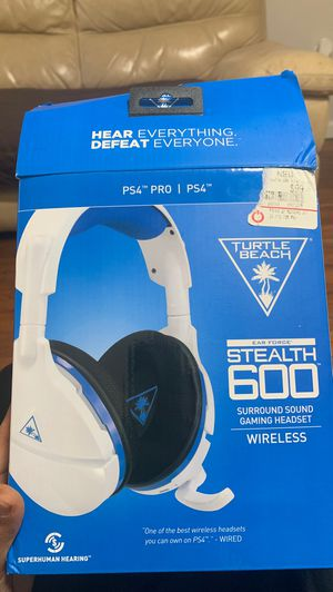 Turtle beach ps4 gaming headset $100 obo for Sale in Philadelphia, PA