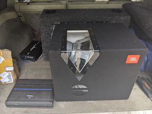 12inch subwoofer an Orion amp for Sale in Glen Burnie, MD