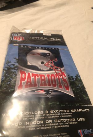 New England patriots flag for Sale in Tamarac, FL