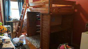 Bunk Bed w/ Desk/Make Offer for Sale in Bolingbrook, IL