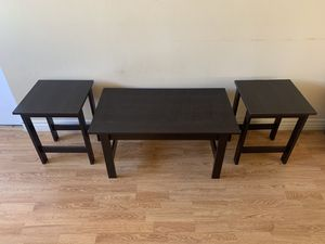 Coffee Table and End Table Set for Sale in Los Angeles, CA