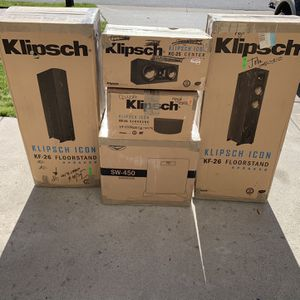 Klipsch Speakers for Sale in Suffolk, VA