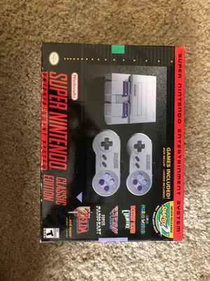 Super Nintendo (Classic Edition) for Sale in San Diego, CA