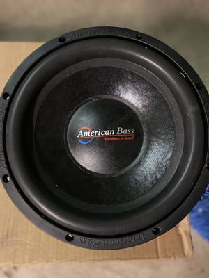 12in Subwoofer 🔊 for Sale in Georgetown, TX